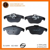 ATE 13.0460-7257.2 Brake pads For Mercedes X204