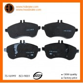 TRW GDB1736 Brake pads For Mercedes Benz