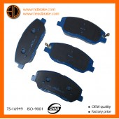 korean brake pads 58101-4DU00